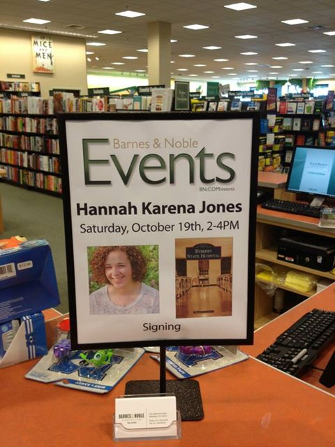 Omgosh, how fancy and official is this!? My sister spotted it at the Barnes and Noble last week.